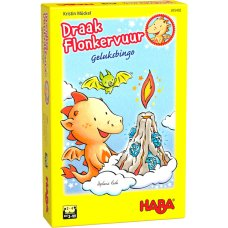 Haba juego Lucky Bingo Dragon Sparkle fire