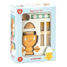 Le toy of Wooden egg Set