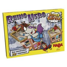 Haba juego Rhino Hero Super Battle
