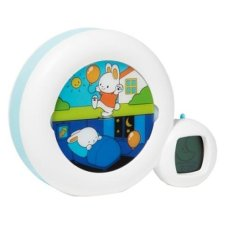 Kidsleep Moon blanco Reloj + despertador