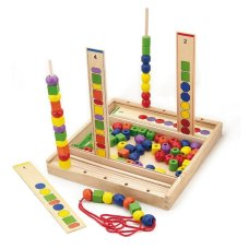 Juega al juego gratis Viga toys Bead Color and shape