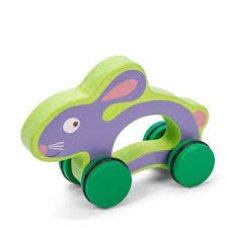 Le Toy Of Petilou Rabbit sobre ruedas