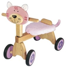 Soy Toy Balance Bike Poes Pink