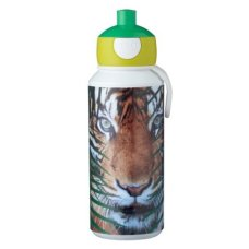 Botella de bebida Campus Pop-Up 400 ml Animal Planet Tiger Green