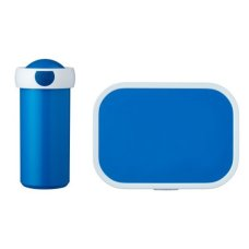 School Cup y Lunchbox Blue