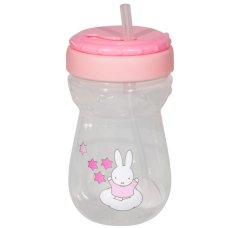 Miffy Taza de paja 360 ml Rosa