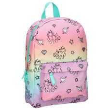 Milky Kiss mochila Stay Cute Rainbows And Unicorns pequeña