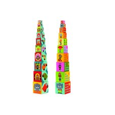 Djeco stacking tower Vehículos