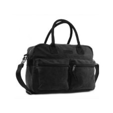 Kidzroom Nursery Bag / Diaper Bag Vision of Love Black con compartimentos
