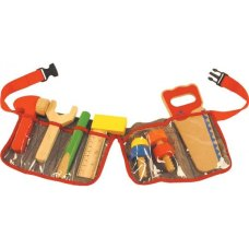 BigJigs Tool Belt Red