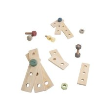 Sebra Wooden Construction Play Set