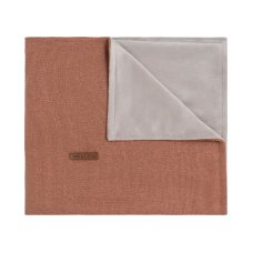 Babies Only Baby Cuna Manta Soft Sparkle Copper-Honey Melange