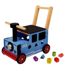 Soy Toy Carriage Train Blue